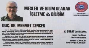 Mezunlarımız Anlatıyor - Doc. Dr. Mehmet GENÇER