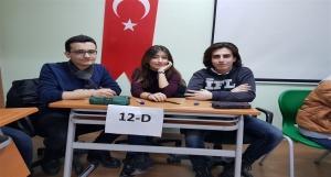 12. Sınıfların Bilgi Yarışması Tamamlandı