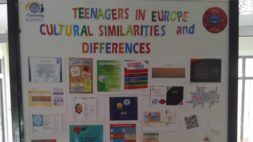 eTwinning Projesi - Teenagers in Europe Cultural Similarities and Differences