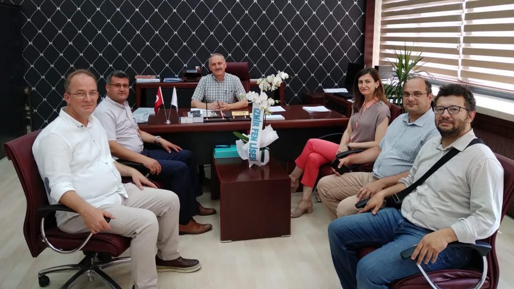 Prof. Dr. Sayın İhsan YAŞA yı Ziyaretimiz