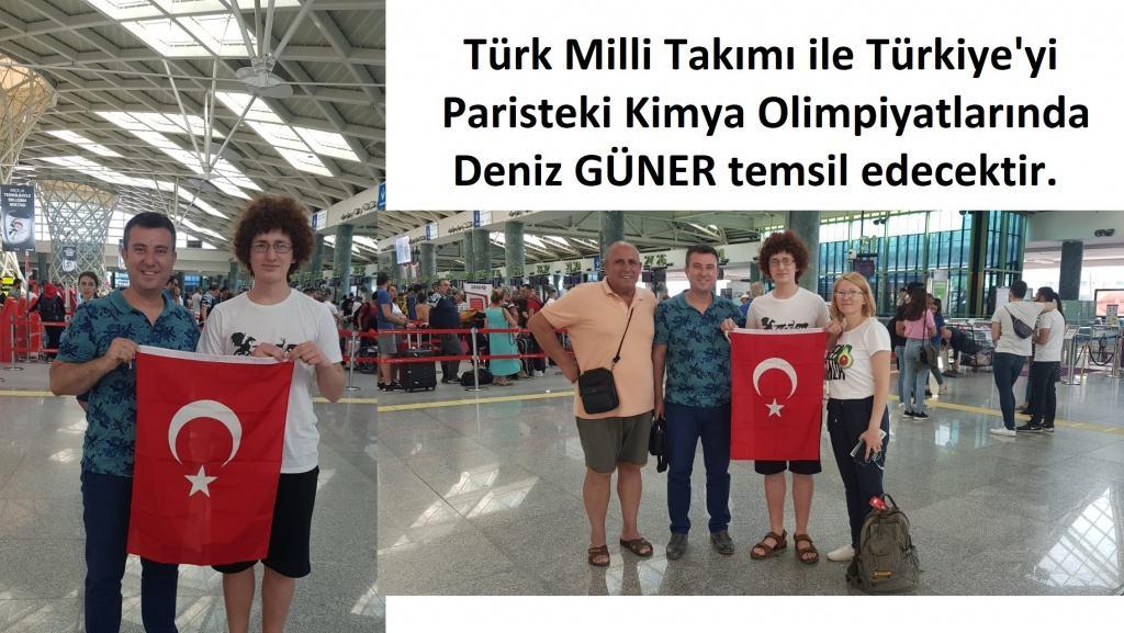 Deniz Türkiyeyi Temsil Edecek