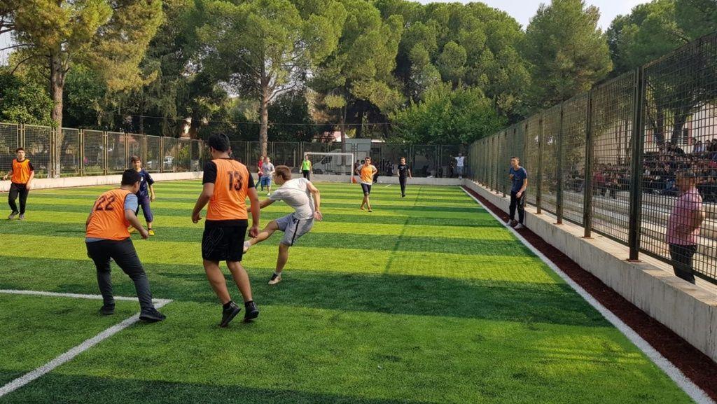 Sınıflar Arası Futbol Müsabakaları Devam Ediyor