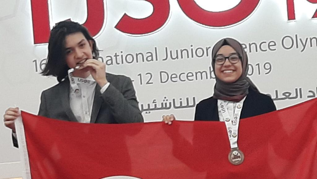 IJSOda 2 Bronz Madalya Kazandık