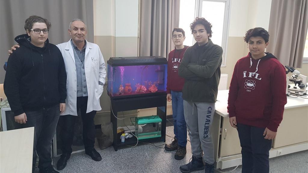 Yeni Misafirlerimiz Canlı Bilimi Laboratuvarımıza Hoşgeldiler