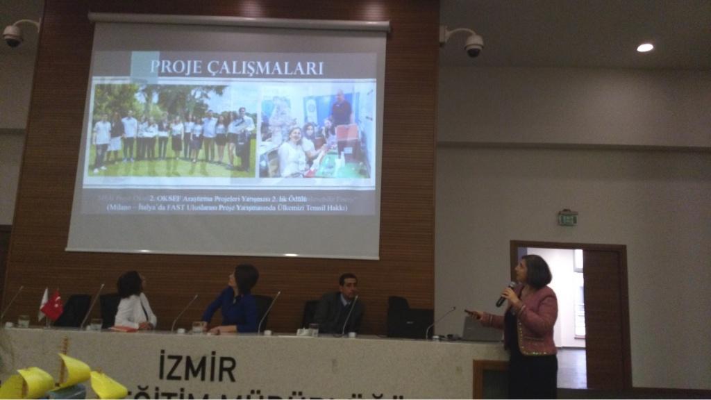 İzmir İl MEM Eğitimcileri Dinliyor - Dr. Meryem YAZICI