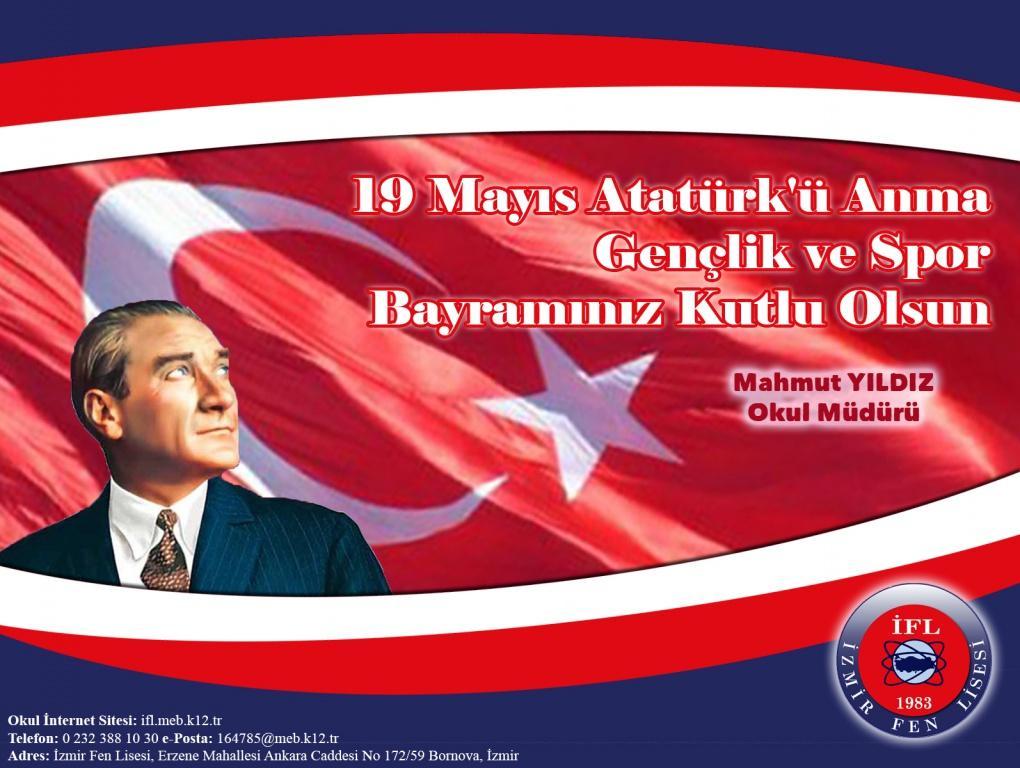 Atatürkü Anma, Gençlik ve Spor Bayramı