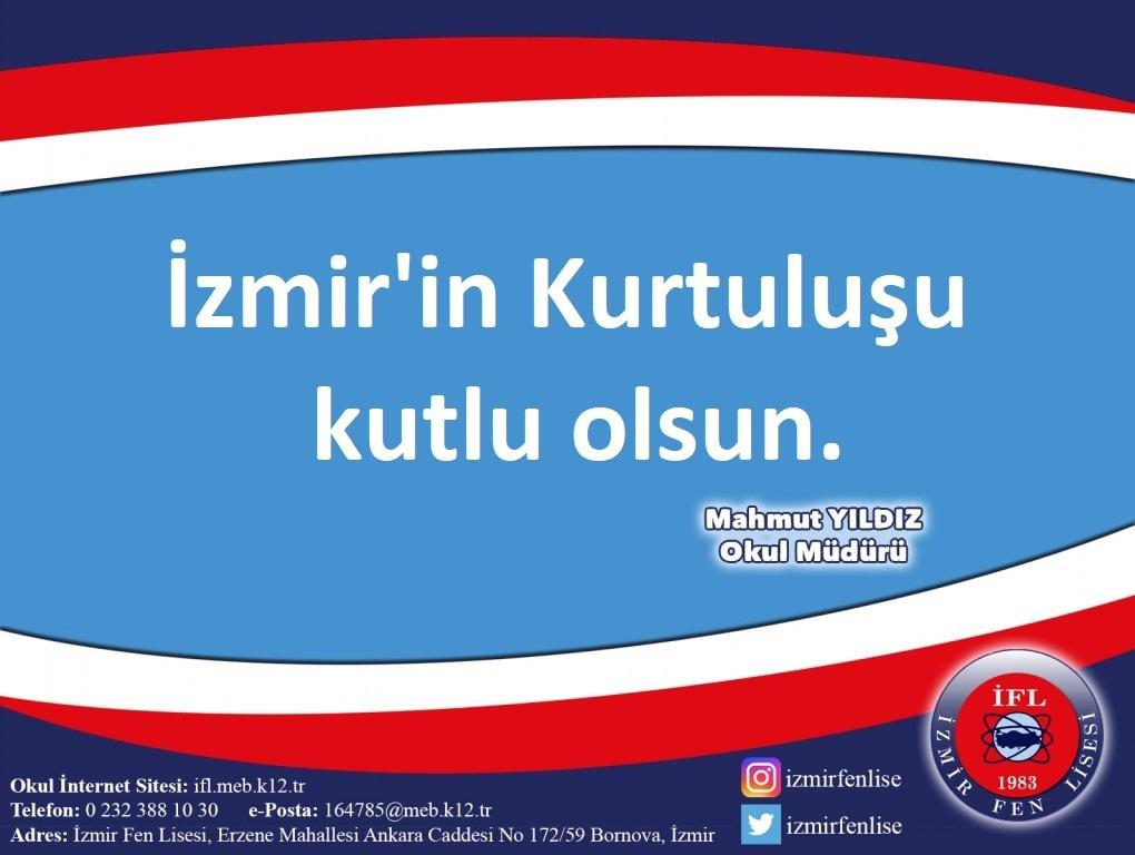 9 Eylül İzmirin Düşman İşgalinden Kurtuluşu