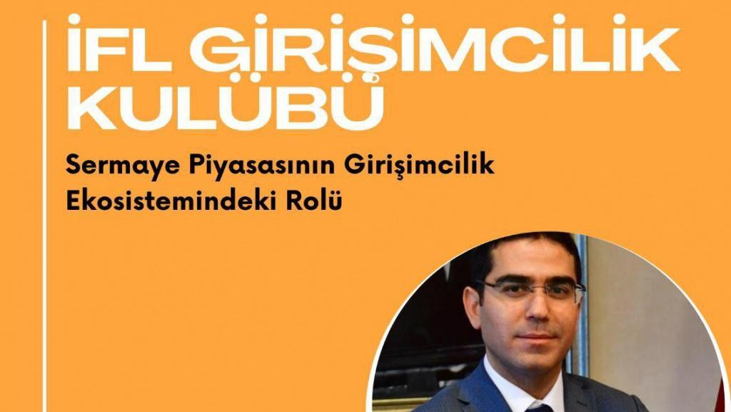 Girişimcilik Kulübümüzün Konuğu Ali ERDURMUŞ